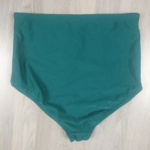 Old Navy Swim - Old Navy High Waist Bathing Suit Bottoms Teal NEW!